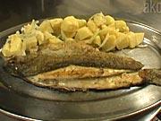 Pečený pstruh - recept na pečeného pstruha so zemiakovým šalátom