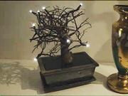 Svítici bonsai - Jak vyrobit svítici bonsai