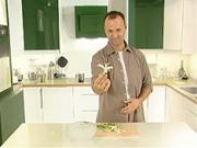 Ako vyrobiť ozdobu zo zelenej cibuľky
