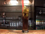 Drink Cuba Libre - recept na miešaný nápoj