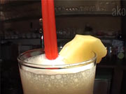 Drink Virgin Colada - recept na miešaný drink