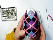 Netradičné  veľkonočné vajce - ako ozdobiť velkonočne vajce