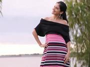Letné šaty - ako si ušiť voľné letné šaty
