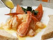 Homár na masle s cesnakom - recept na homára na masle