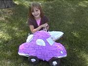 Jak vyrobit autíčko z balónů a papirů