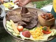 Hovädzí závitok s kapustou a slaninou - recept na hovädzí závitok na grile