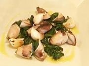Grilované kalamáre - recept na grilované kalamáre na olivovom oleji