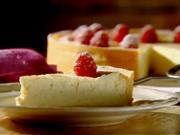 Cheesecake - recept na tvarohovu tortu s malinami