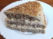 Orechová torta - recept na tortu s lieskovými orechami