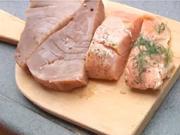 Grilovaný losos - recept  na lososa na bylinkách