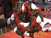Adventný veniec (2/2) - Ozdobný vianočný veniec