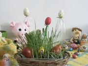 Velkonočná záhradka - Veľkonočná dekorácia pre najmenších