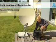 Montáž paraboly pro satelitní příjem - instalace DUO LNB, Astra 19,2°E a 23,5°E