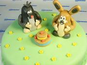 Torta s krtkom a zajačikom
