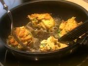 Hubové šišky - recept na šišky z húb s kyslou smotanou a chrenom
