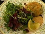 Rybí karbanátky s bramborami - recept na  karbanátky z lososa  s bramborami