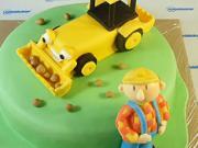 Borek staviteľ - ako vyzdobiť tortu