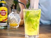 Drink Diamantové mojito - recept na miešaný nápoj Golden mojito (mochito)