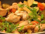 Cestoviny s kuracím mäsom - recept na cestoviny s kuracím mäsom a zeleninou - ako zdravo chudnuť