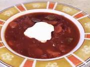 Boršč - recept na zeleninovu polievku