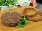 Tatarsky biftek - recept na tatársky biftek - tatarák - netradične