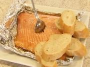 Grilovaný losos - recept na lososa na grile Graved Lax