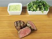 Biftek s bernskou omáčkou - recept na biftek na víne s bernskou omáčkou
