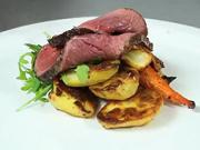 Hovädzie pečené so zemiakmi  - recept na šťavnaté hovädzie pečené so zemiakmi  a zeleninou