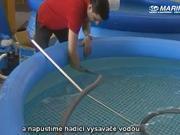 Bazénový vysavač - ako sa zmontuje a pripojí vysavač Star Vac