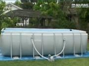 Stavba bazéna Tahiti - montáž bazéna Tahiti