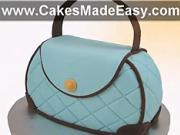 Torta ako kabelka - ako si vyrobiť tortu v tvare kabelky