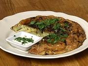 Tortilla Espaňola - recept na zemiakovo-cibuľový koláč s vajíčkom a petržlenom