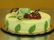 Ozdobné pásiky - Čokotransfer - zdobenie torty