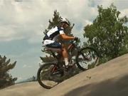 Jazda do kopca - technika výjazdu na bicykli v teréne