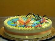Motýl na dortu - zdobení dortu