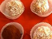 Rumové guličky - recept na rumové guľky s orechami, kakaom a džemom