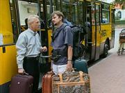 Etiketa cestovania lietadlom a autobusom
