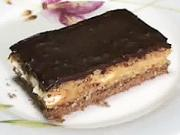 Orechový zákusok - recept na orechovo - kávový koláč s piškotami