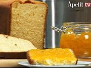 Domáca pomarančová marmeláda s brioškou - recept na prípravu  pomarančovej marmelády a pečenie briošky