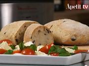 Domáci chléb Ciabatta - recept jak upéct chléb Ciabatta s olivami