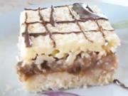 Orechovo - marhuľový zákusok -  recept  na rezy Suzette