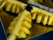 Ananás ako pochúťka i ozdoba - ako krájať ananás