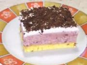 Višňový zákusek - recept na višňovovo-vanilkový zákusek s čokoládou