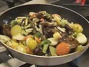 Kuracie prsia so zeleninou - recept na marinované kuracie prsia s Wok zeleninou