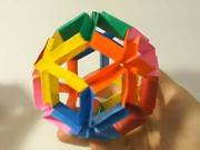 Flexi guľa z papiera - ako si vyrobiť  z papiera  flexi guľu