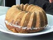 Oriešková bábovka - recept na orieškovo-kakaová bábovku