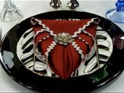 Obrúsok v tvare srdca - ako poskladať obrúsok do tvaru srdca