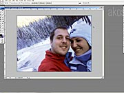 Retuš zimnej fotografie vo Photoshope