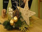 Vianočné dekorácie - adventné dekorácie