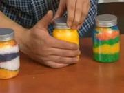 Barevná koupelnová sůl - jak vyrobit barevnou  sůl